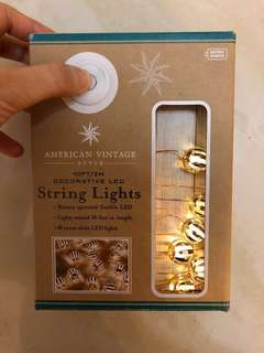 LED String lights - perfect for home decoration