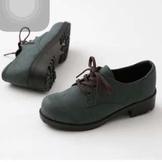 Brand New Oxford Khaki Shoes