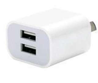 USB fast charging dual plug