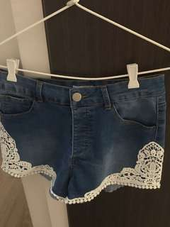 Valleygirl Denim Shorts