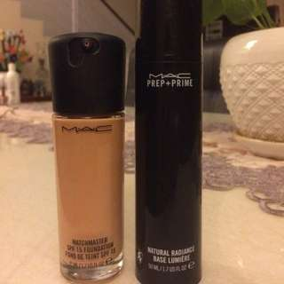 Mac Foundation + primer