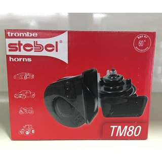 Stebel Trombe TM80 Car Horn ($50 inclusive of installation on Japanese/Korean Cars and $70 for Continental Cars)