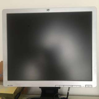 HP 17 inch monitor with 2 USB ports