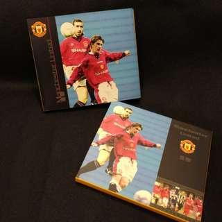 1997年發行「英國球壇明星儲值電話卡~曼聯」
