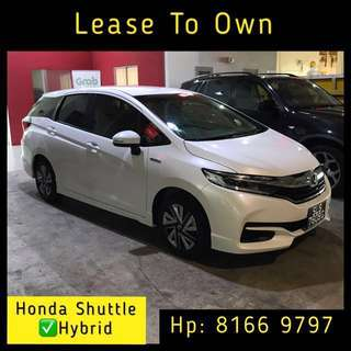 Lease To Own - Honda Shuttle Hybrid