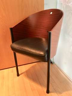 Original Philippe Starck Cafe Costes leather