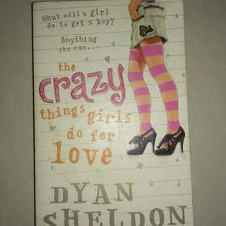The crazy things girl do for love