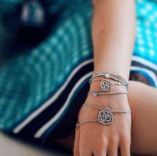 NYL🈹Piaget rosegold diamond bracelet