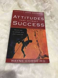 ATTITUDE THAT ATTRACT SUCCESS