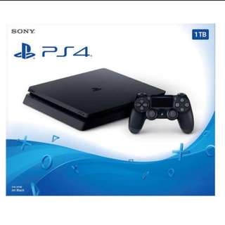 BNIB SONY CUH-2006BB01 PS4 SLIM 1TB