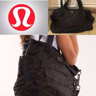 Black Lulu Lemon Bag $120