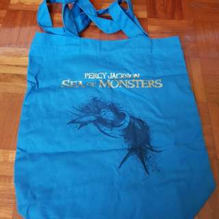 Percy jackson sea of monsters official tote bag
