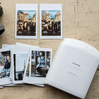 (with Accessories) Fujifilm INSTAX SHARE Photo Printer SP-1 in Pink