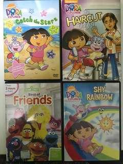 Dora and Elmo dvd