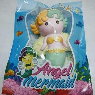 SQUISHY Angel Mermaid Oriker Anak Mainan Anak Cewek Perempuan