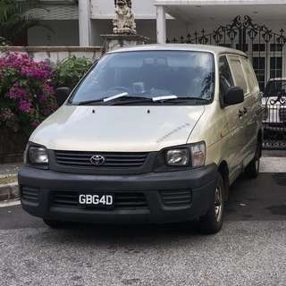 Toyota Liteace $24800 & Renault Kangoo $20500