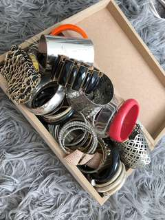 Box of costume bangles