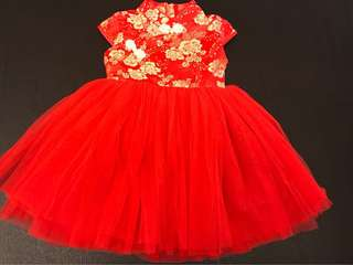 (P) Baby Girl Blossom Tutu Dress