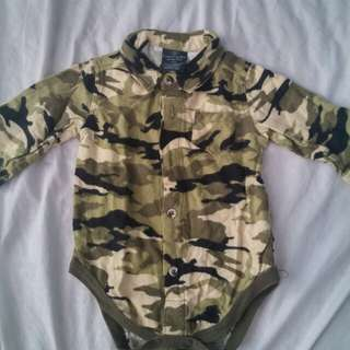 Faded Glory Camouflage Onesies