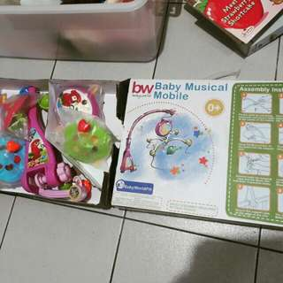 Baby mobile Crib toy