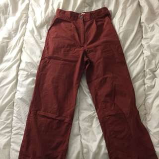 OAK+FORT RED PANTS