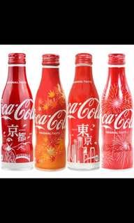日版 可口可樂 東京 北海道 櫻花版 Japan jp coke