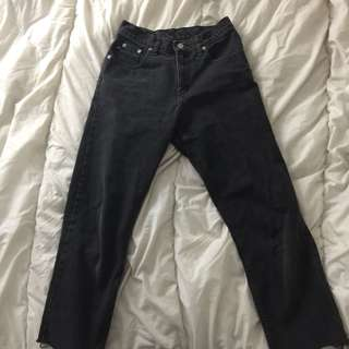 RALPH LAUREN BLACK DENIM