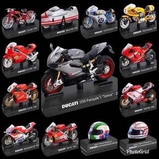 (免運)7-11 義大利 杜卡迪 全套 模型車 13台。現貨