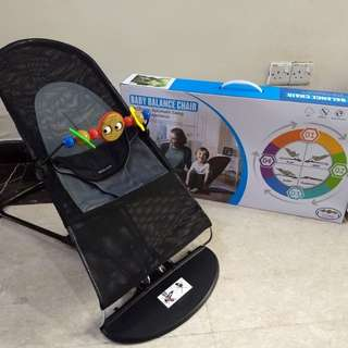 Baby & toddler reclinable bouncy chair