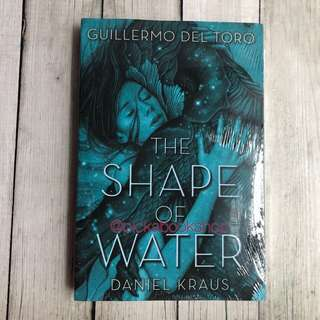 [Ready Stock] The Shape of Water - Guillermo del Toro. Paperback