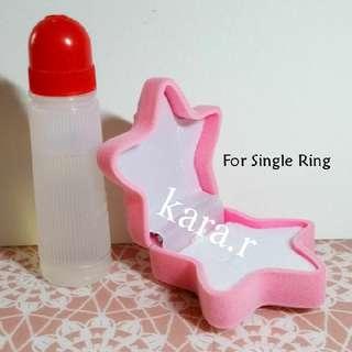 ⭐Rings Velvet Box Pink Starfish Star Gift