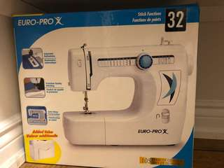 Sewing machine euro pro x new