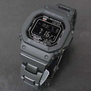 Casio G-Shock GW-M5610BC Resin Chain Strap Watch