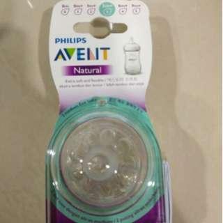 Avent natural bottle teats