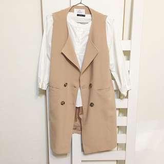 【衣服】 pazzo 粉紅色西裝外套