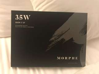 Authentic Morphe Warm It Up Eyeshadow Palette