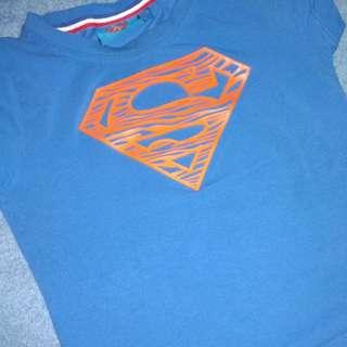 Kaos superman   kaos anak reprice