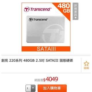 全新創見SSD硬碟(僅拆封檢查)