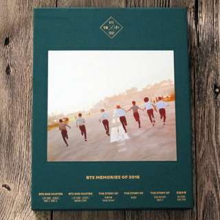 ON HAND SEALED ALBUM BTS Memories of 2016 - 4 CDs, Photobook, Sleeve Box