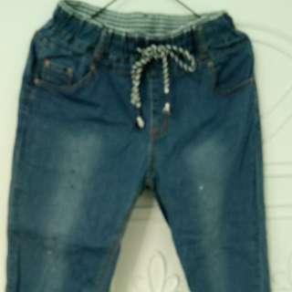 牛仔農夫褲