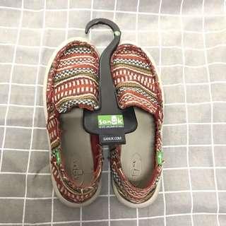 民族風Sanuk鞋