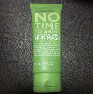 No Time To Shine Oil Absorbing Mud Mask