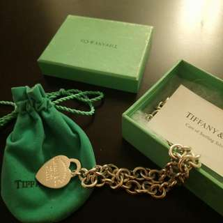 Tiffany necklace. Price is firm.