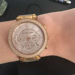 Michael Kors Fab Lux Watch