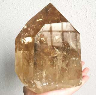 Golden Citrine Large Crystal Point 2.5kg