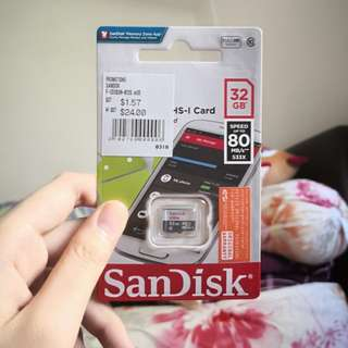 SanDisk Ultra 32 GB Memory Card