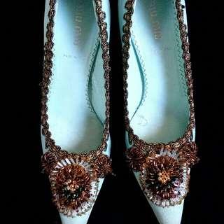 Miu Miu Embellished Heels