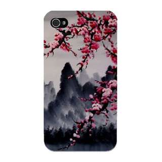 Cherry Blossoms Mountains Phone Case