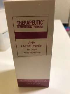 TDF AHA facial wash 100ml brand new sealed condition