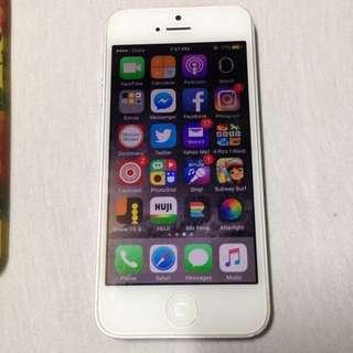 📱 Iphone 5 16gb